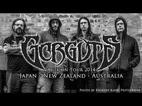 GORGUTS TOUR Japan / New Zealand / Australia - November 2014!