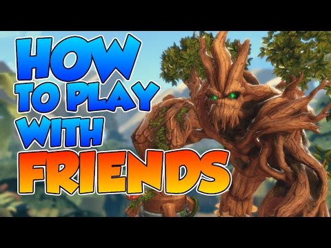 How to play with friends - Paladins / Tutorial #1