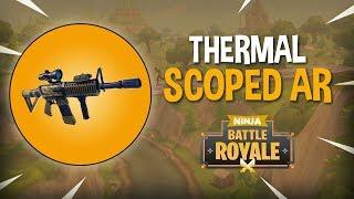 New Thermal Scoped AR!! - Fortnite Battle Royale Gameplay - Ninja thumbnail
