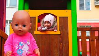Кукла НАСТЯ и ПРЯТКИ с куклами БЕБИ БОН  Hide and seek with  baby Doll Nastya by Magic Twins