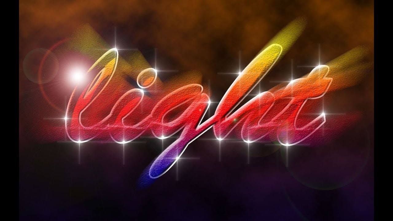 Light text effect photoshop tutorial youtube baditri Gallery