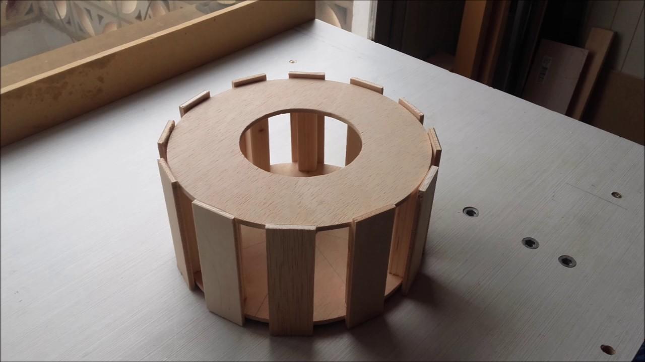Guia de como hacer una lampara de madera screens wooden - Lamparas colgantes de madera ...