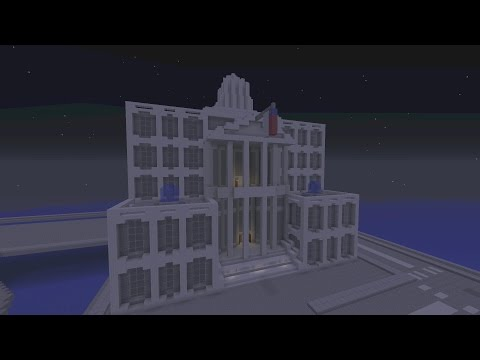Minecraft Gotham City: Solomon Wayne Court House