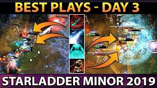 Best Plays STARLADDER ImbaTV 2 Minor Day 3 - Dota 2