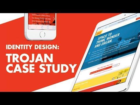 Identity & Web Design - Trojan Storage Branding Case Study