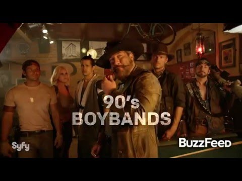 Pop stars from the old days unite in zombie movie Dead 7