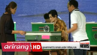 Thai referendum starts on Sunday on new junta-backed constitution