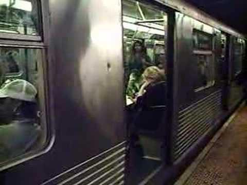 A train at West 4th Street-Washington Square II