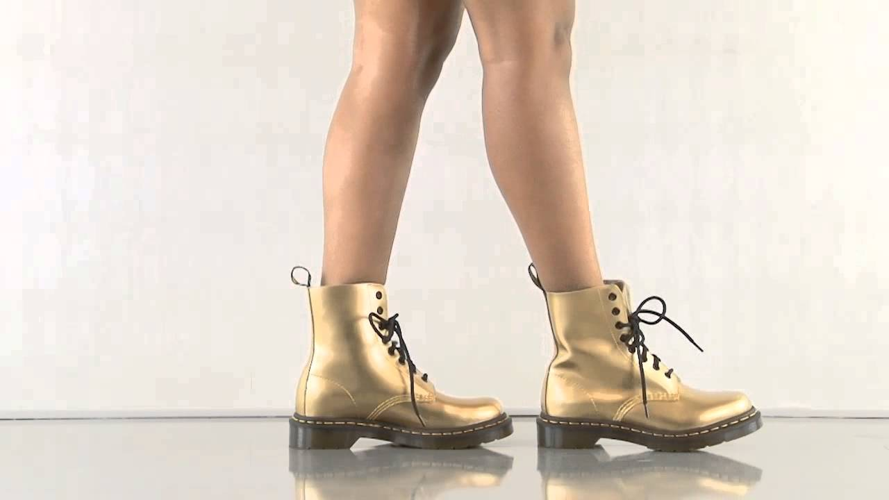 1c291553df Pascal in Gold Spectra Pat Dr Martens - YouTube