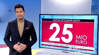 Ziehung der Lottozahlen vom 16.01.2019