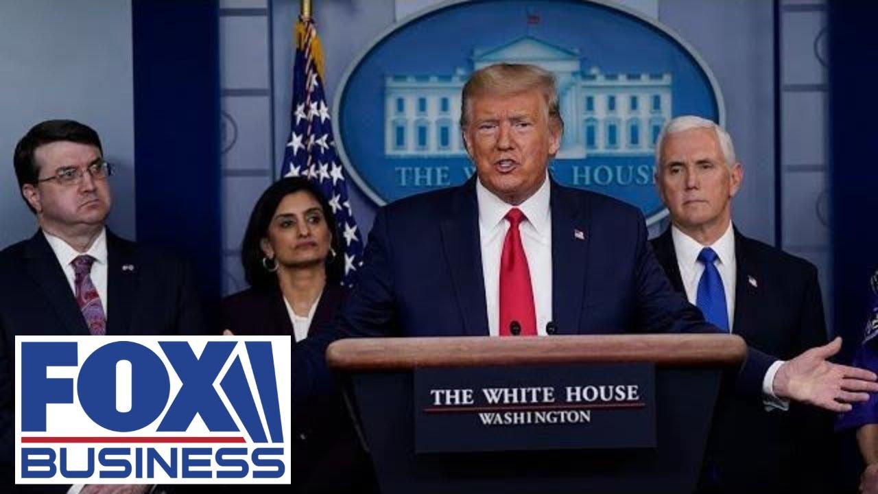 Trump joins Coronavirus Task Force in press briefing