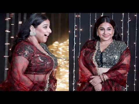 Vidya Balan Shocking Weight Gain At Priyanka Chopra And Nick Jonas Wedding Reception
