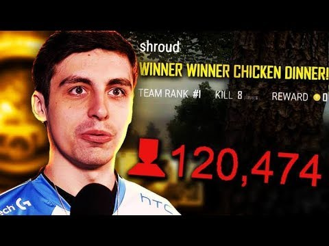 SHROUD PUBG TOURNAMENT FIRST PLACE