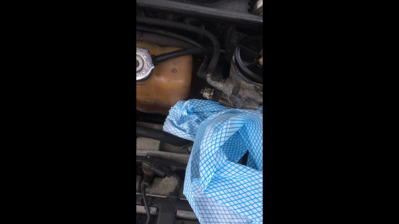Pt Cruiser Crd Fuel Filter Replacement 2004 1st Gen Diesel