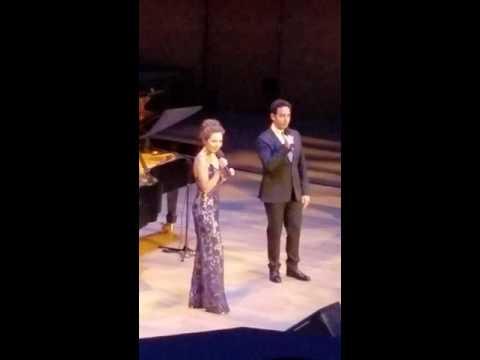 LOVE IS AN OPEN DOOR Laura Osnes and Santino Fontana