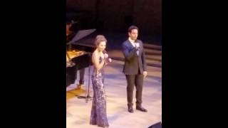 LOVE IS AN OPEN DOOR Laura Osnes and Santino Fontana