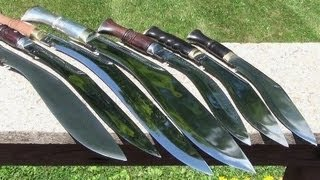 Amazing Khukuri Collection, Nepalese Kukris