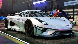 THE REGERA (Fastest Car) - Need for Speed: Heat Part 22