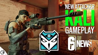 Gameplay & Loadout - Kali New Attacker - Shifting Tides - Gadgets - Tom Clancy's Rainbow Six Siege