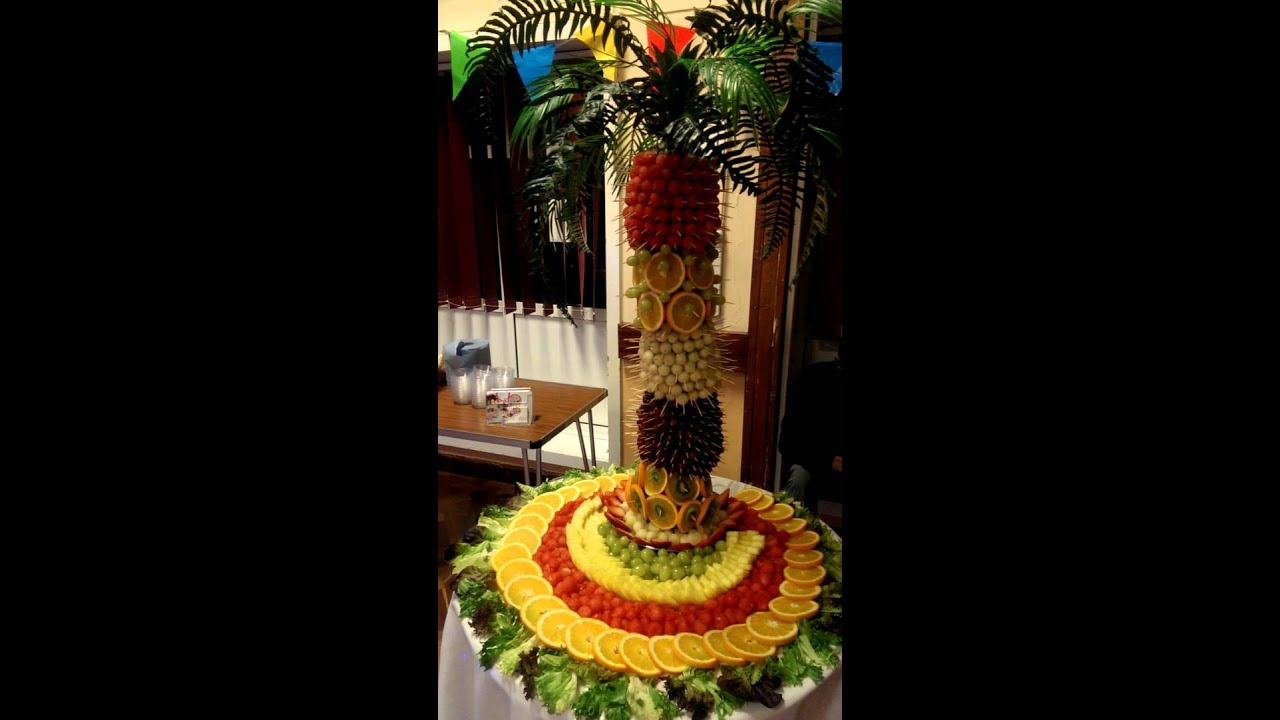 Food Cake Stand Fruit