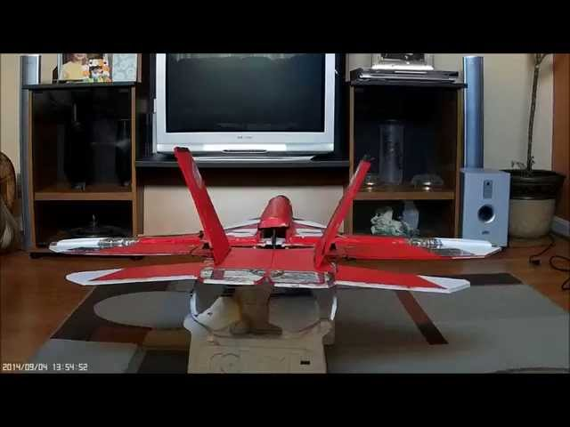 AIRBRAKES SET UP Futaba T8FG Super