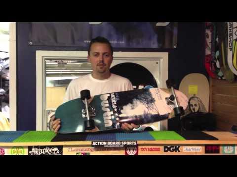 Action Board Sports Reviews the Bustin Modela Longboard Skateboard