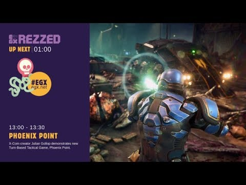Phoenix Point, presented by Julian Gollop at EGX Rezzed 2018