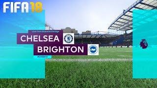FIFA 18 - Chelsea vs. Brighton & Hove Albion @ Stamford Bridge