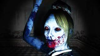恐怖の館「ワザワイの夜」で幽霊を避ける動画