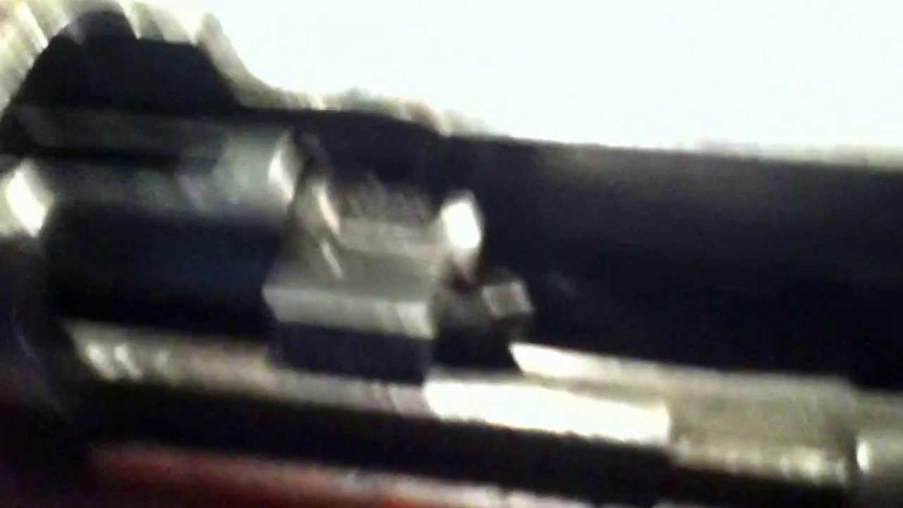 Lee enfield no4 mk1 bolt problem