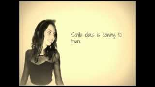 Video Santa Claus Is Coming to Town Cimorelli