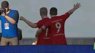 Fifa 16 Hannover 96 gegen VFL Wolfsburg
