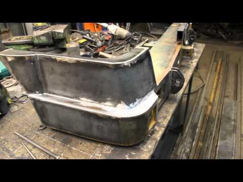 Задний силовой бампер на УАЗ Патриот - создание