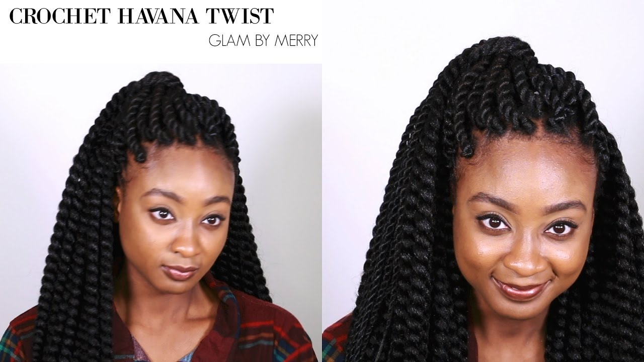 Havana Twist Crochet Braids Invisible Method Glam By Merry