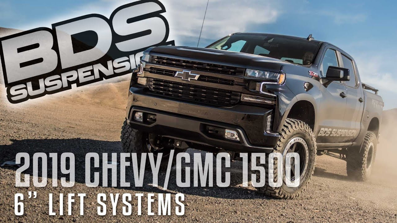 2019 chevy 1500 6 lift systems