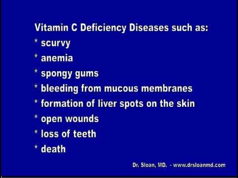 Vitamin C Deficiency Diseases - YouTube
