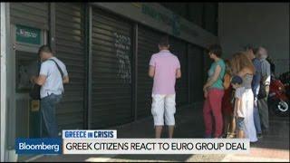 Citizens Still Feeling Brunt of Crisis in Greece