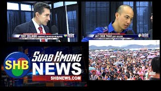 SUAB HMONG NEWS:  Hmong body builder, Candidate for Milwaukee Mayor, Hmong New Year in Laos