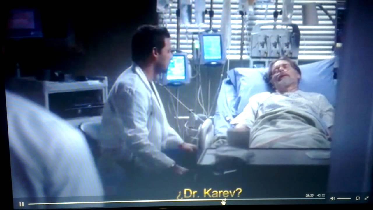 Anatomía de grey 10x13 Karev le pega a Ross - YouTube