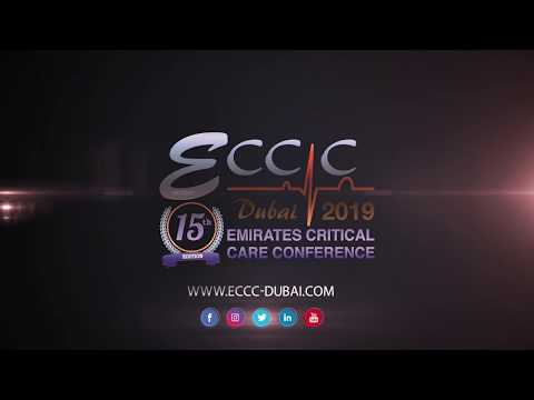 15th Emirates Critical Care Conference. 4-6 April 2019, Event Center, Dubai Festival City, UAE.