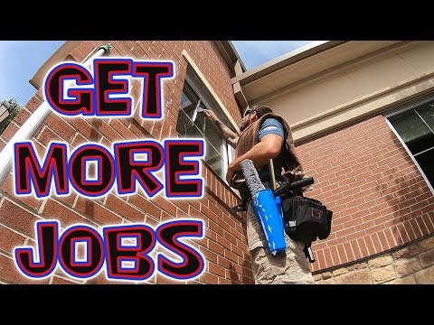 HOW TO GET MORE WINDOW CLEANING JOBS | STOREFRONTS