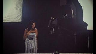 Алсу на съемках нового клипа на песню
