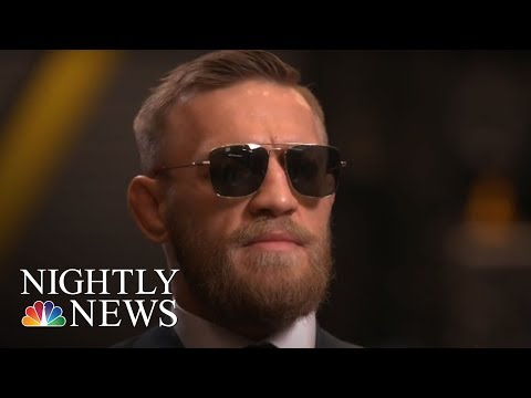UFC Star Conor McGregor Arrested And Charged With Assault, Criminal Mischief | NBC Nightly News