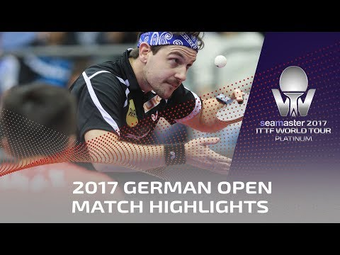 2017 German Open Highlights: Timo Boll vs Lin Gaoyuan (1/4)