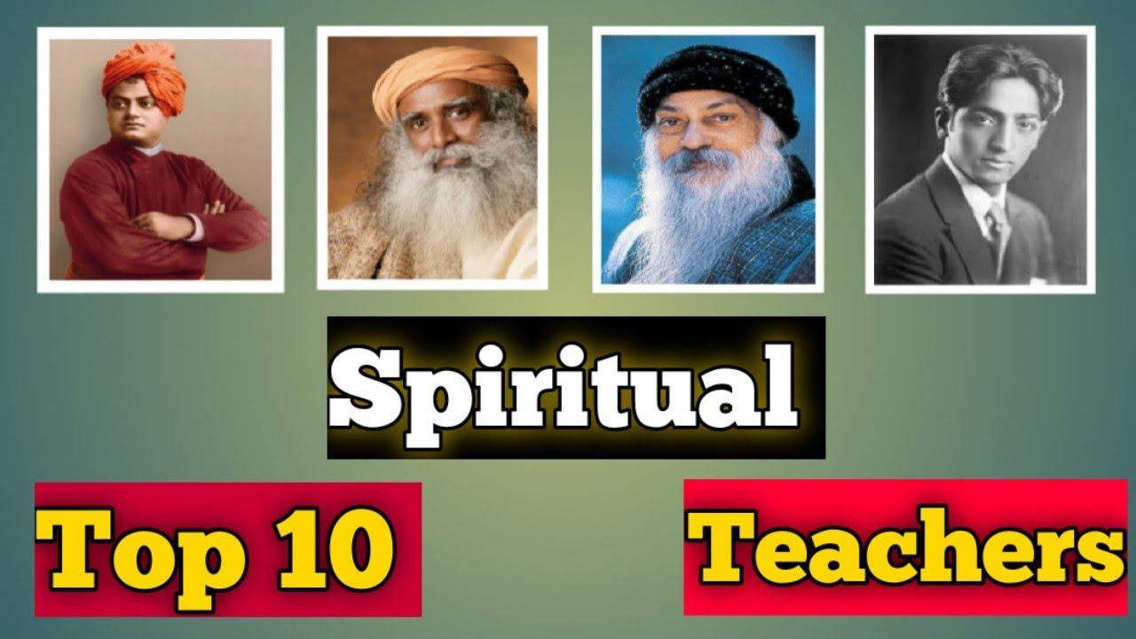 Top 10 Spiritual Teachers In the world | Meditation | Spirituality | Osho | Sadhguru | Krishnamurti