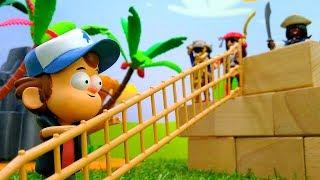 Гравити Фолз - Диппер и сокровища Пиратов! - Видео с игрушками.