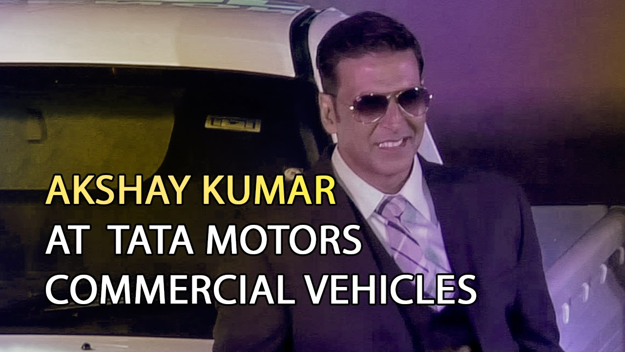 Akshay kumar at unveiling of tata xenon yodha tata motors for Tata motors commercial vehicles