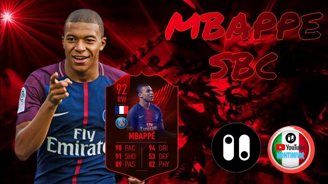80- RATING HYBRID , KYLIAN MBAPPE SBC : fut 19 pack opener by PacyBits