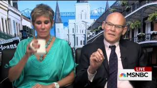 Mike Barnicle talks with James Carville & Mary Matalin about New Orleans today (26 August 2015)