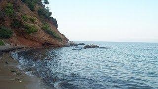 Ραφήνα-Η όμορφη παραλία Κόκκινο Λιμανάκι(Greece-Kokkino Limanaki beach)